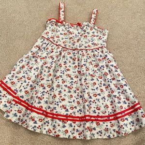 Ralph Lauren 💐 floral ruffle dress size 24 months